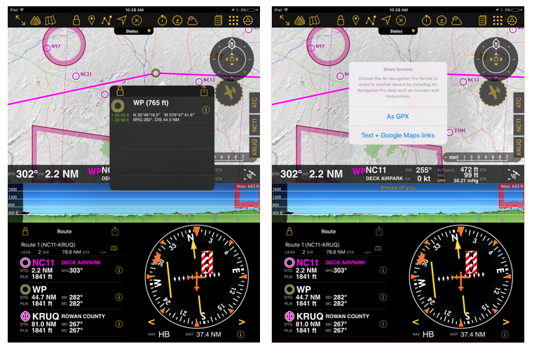 9 features of air navigation pro ios you should know air rh blog airnavigation aero Aircraft Navigation Systems History Aircraft Navigation System