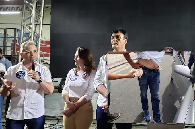 Candidato que teve apoiador detido com dinheiro na cueca atribui derrota à fiscalização: 'Muitos policiais nas ruas'