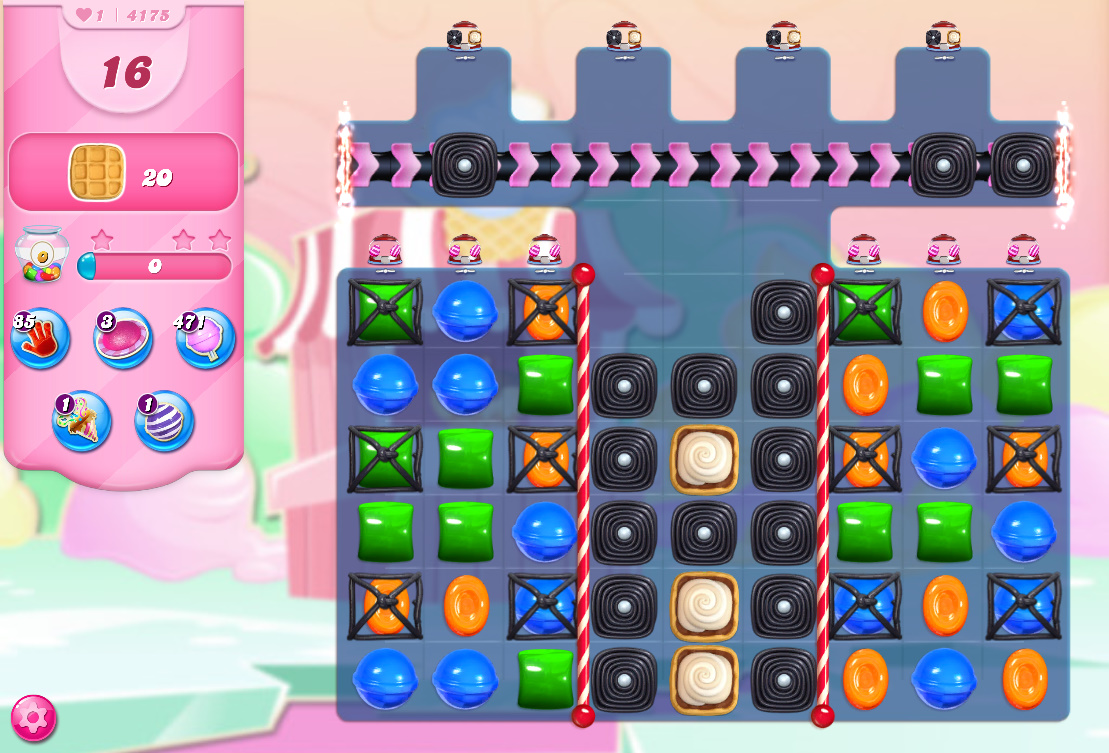 Candy Crush Saga level 4175