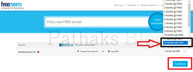 set domain duration for 12 months, pathaks blog, anil pathak blog