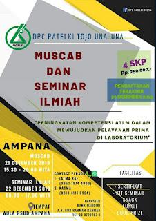 Muscab dan Seminar Ilmiah DPC PATELKI Tojo Una-Una 2019