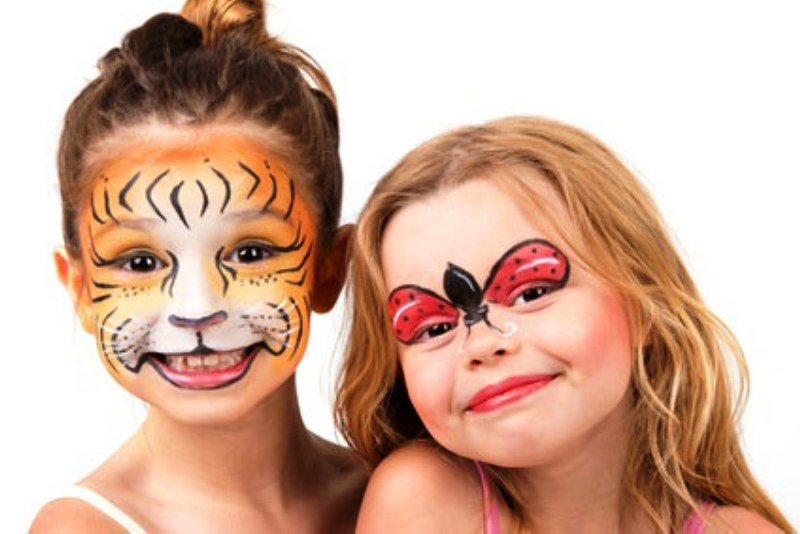 Simple Face Painting Designs Ladybug