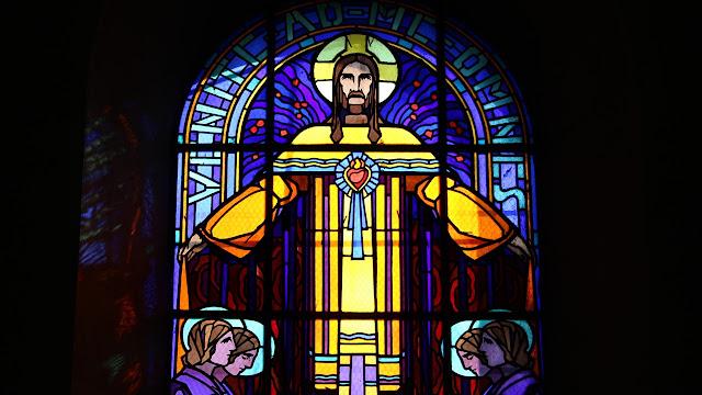 le coeur de jésus - eglise saint just saint rambert©Défrade