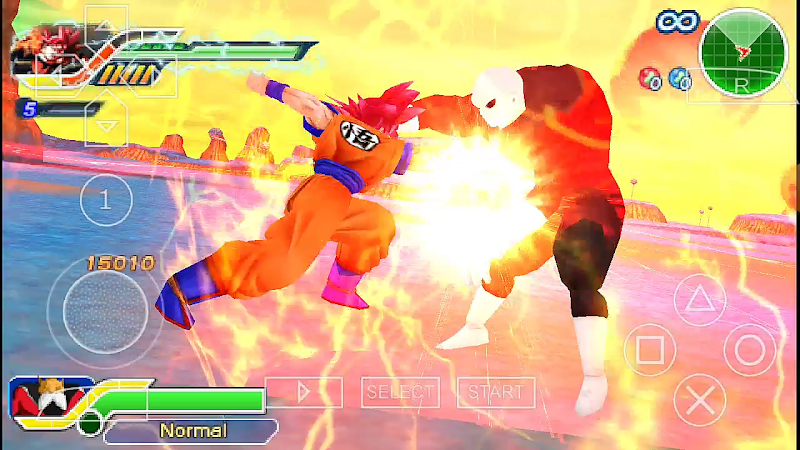 New Android PSP Game DBZ TTT MOD BT3 ISO With HD MENU Download