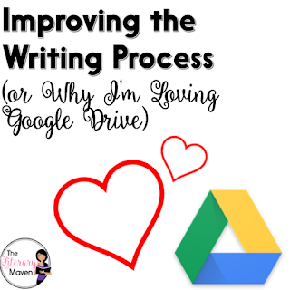 Using Google Drive, specifically Google Docs, has greatly improved the writing process in my classroom. No more lost assignments and making extra copies, but more importantly, students are now much more willing to engage in the revision stage of the writing process.