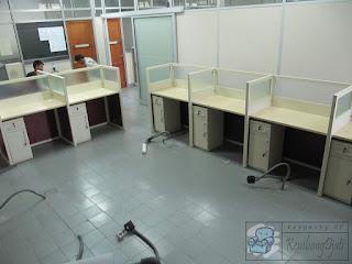 Semarang Furniture - Cubicle Workstaton Knockdown System - Meja Sekat Kantor