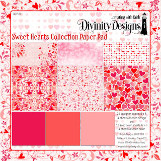 Divinity Designs LLC Sweet Hearts Collection Paper Pad