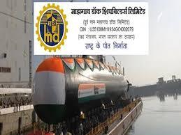 MAZAGON DOCK SHIPBUILDER LIMITED BHRTI 2021   NON EXECUTIVE 1380 POST NOTIFICATION