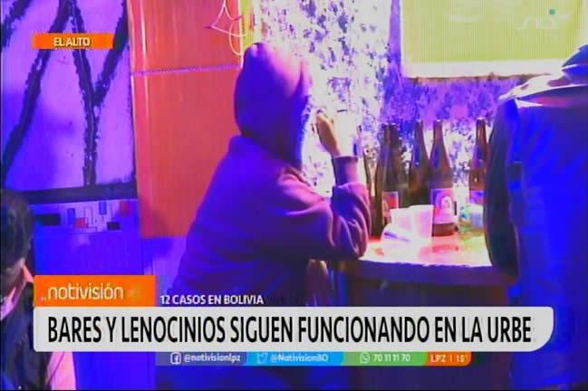 Bares y lenocinios de El Alto atienden con normalidad pese a restricciones