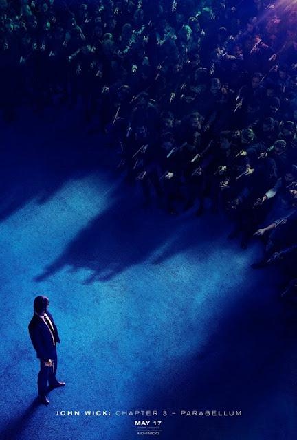 جون ويك يواجه العالم في تريلر الجزء الثالث John Wick Parabellum البوستر الرسمي