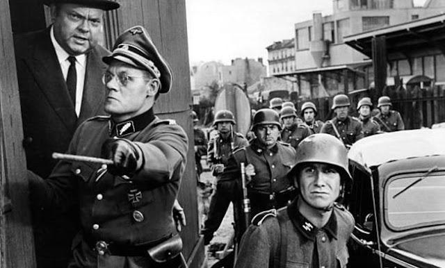 Orson Welles and Günter Meisner