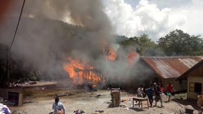 Kebakaran di Samosir, Pemkab Samosir Siapkan Bantuan Darurat bagi Korban  di Sianjurmulamula