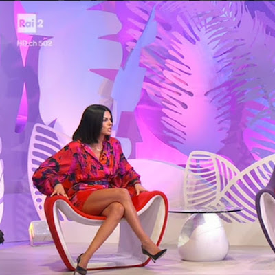 gambe Bianca Guaccero oggi foto