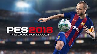 تحميل كراك لعبة PES 2018
