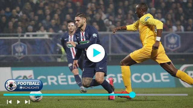 Pau vs Paris Saint Germain – Highlights