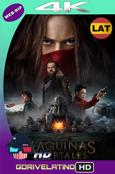 Máquinas Mortales (2018) WEBRip 4K UHD Latino-Ingles MKV