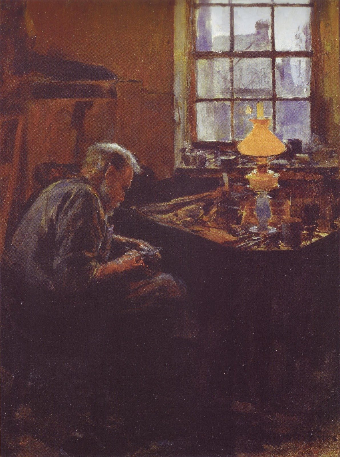 "Irish Artist ""Stanhope Forbes""  - A Plein Air Genre Painter"