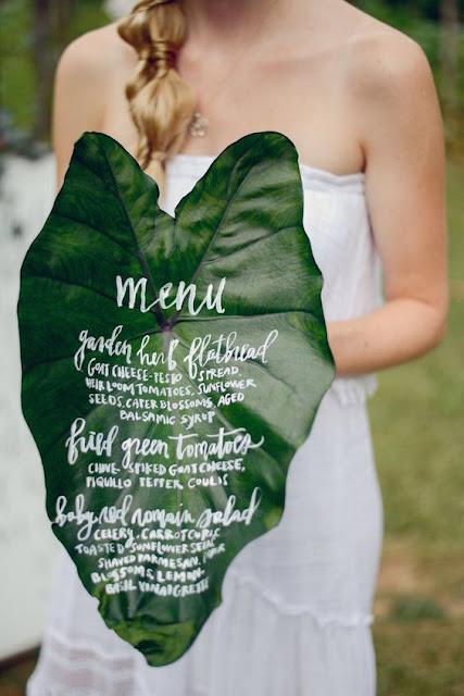 menu hoja palmera
