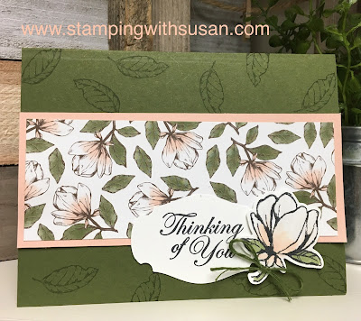 Stampin' Up!, Magnolia Lane Suite, Magnolia Blooms, www.stampingwithsusan.com