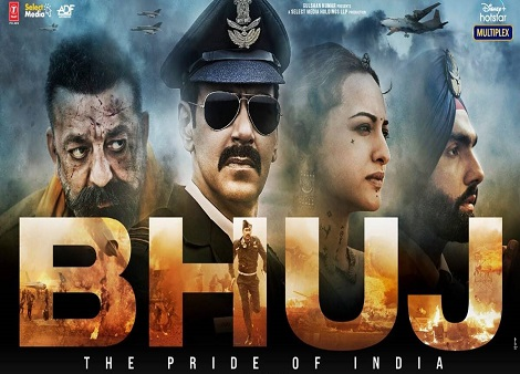 Download Bhuj: The Pride of India (2021) 720p + 1080p WEB-DL x264 [Hindi DDP5.1] ESub