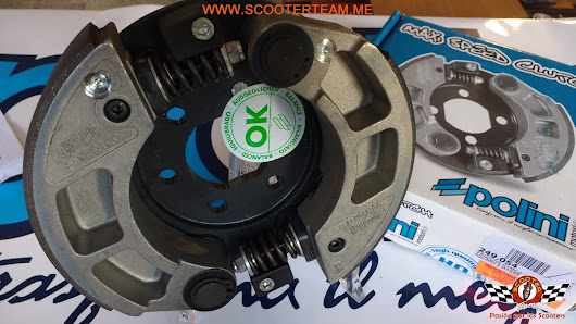 "CLUTCH POLINI XCITING 500i ""MAXI SPEED CLUTCH 2G FOR RACE"" referencia 249.054"