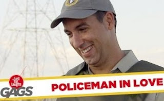 Funny Video – Electric Fence Castrates Cop
