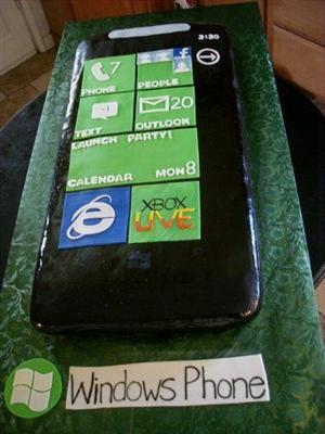 Gâteau Windows Phone
