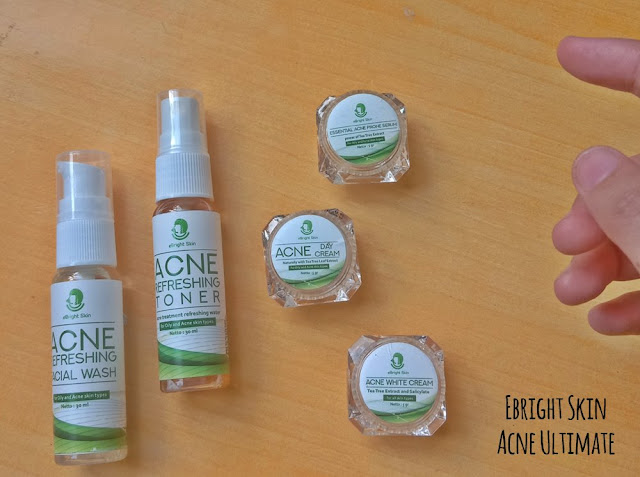 ebright skin acne ultimate series
