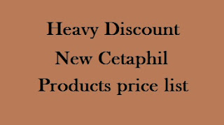 Cetaphil products price list