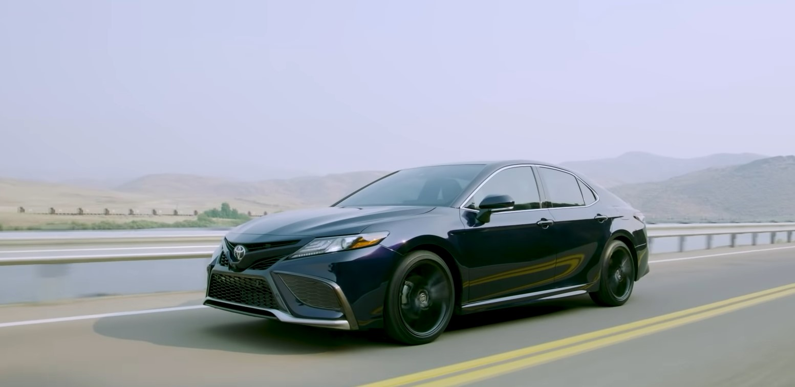Toyota Camry 2021 On The Road