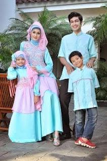 Baju Muslim Couple Ibu Ayah Dan Anak