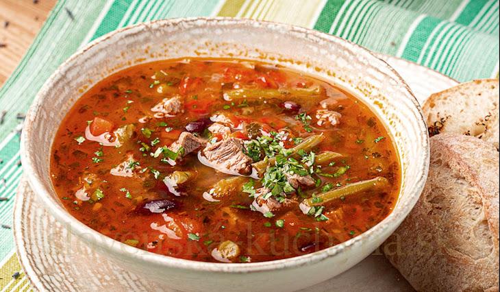 Teľacia polievka