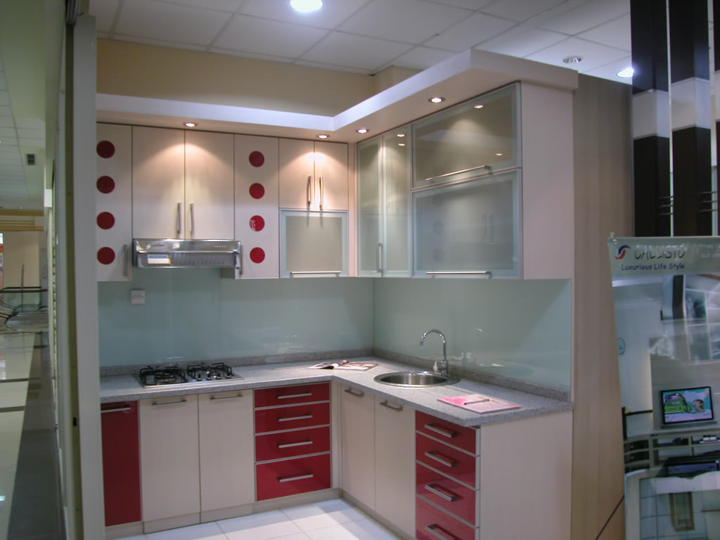 Rumah minimalis Desain Kitchen set minimalis