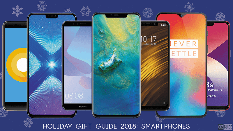 Holiday Gift Guide 2018: Smartphones to get in the Philippines this Christmas!