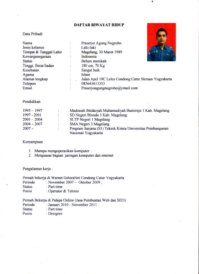 contoh resume kerja via email professional resumes example online
