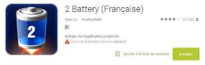2X Battery Saver أفضل تطبيقين للأندرويد للحفاظ على بطارية الهاتف