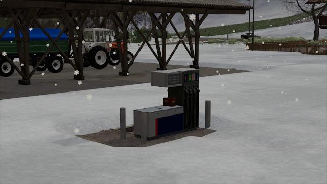 Diesel Station v1.0 FS19 Mod