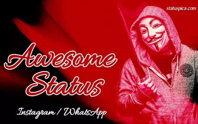 ᐈAwesome status in english for instagram