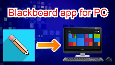 Blackboard app for PC