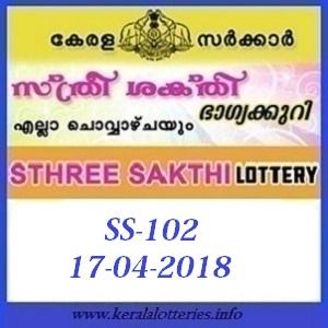 STHREE SAKTHI (SS-102) LOTTERY RESULT
