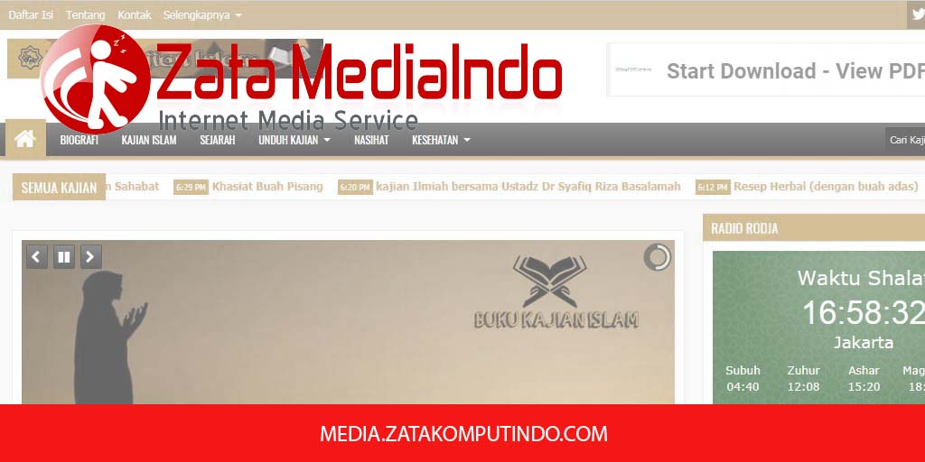 Media Partner Buku Kajian Islam