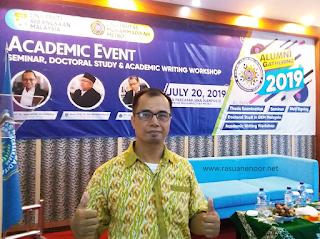 Academic Event dan Alumni Gathering Program Pascasarjana Universitas Muhammadiyah Metro Menghadirkan Prof. Dr. Norhamidi Muhammad dari Universiti Kebangsaan Malaysia (UKM)