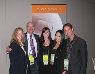 clarisonic opal launch with Billy Lowe