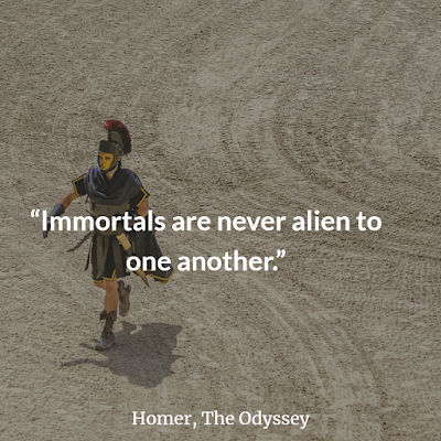 Best Odyssey Homer Inspirational Quotes