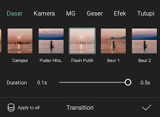 how to make white flash on capcut