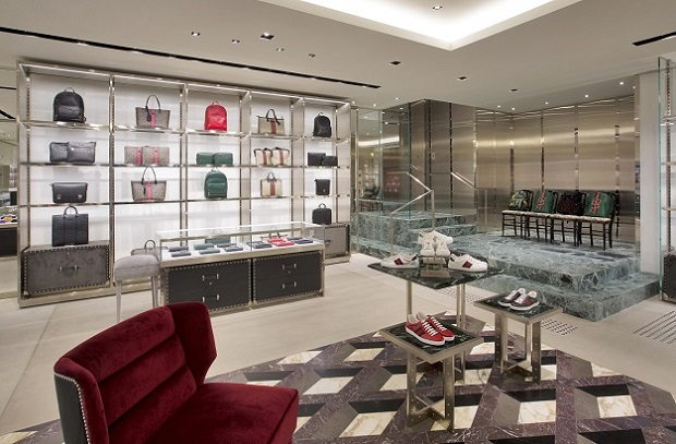 mylifestylenews: GUCCI Hong Kong Times Square Store Expansion