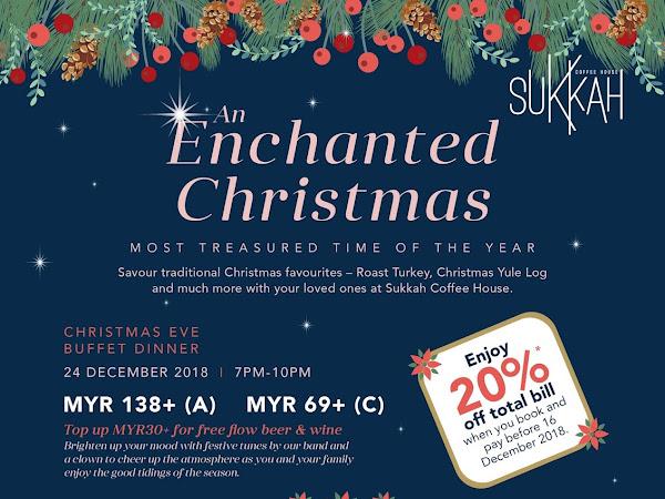 An Enchanted Christmas Buffet at Olive Tree Hotel Penang