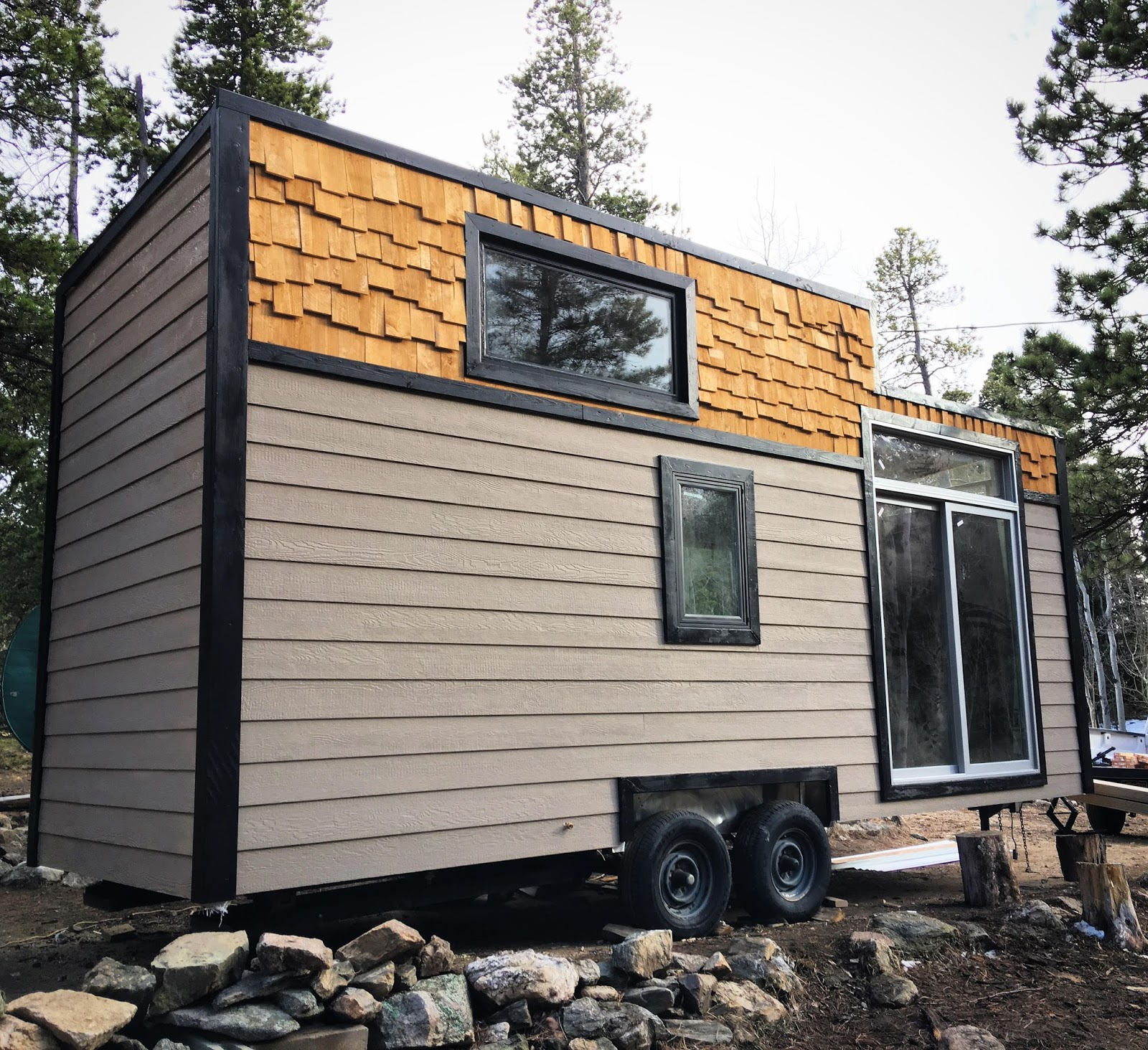 8 Staycation Worthy Tiny Homes For Sale: TINY HOUSE TOWN: Custom Tiny House In Denver