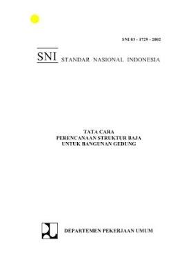SNI 03-1729-2002 Tata Cara Perencanaan Struktur Baja Untuk Bangunan Gedung
