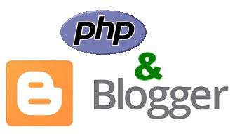 PHP and Blogger